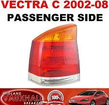 VAUXHALL VECTRA C 02> BACK REAR LIGHT LAMP LENS PASSENGER NEAR SIDE LIFE LS CDTI