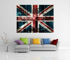 KCV19 Framed Vintage Style Union Jack Keep Calm Play Tennis Funny Poster A3//A4