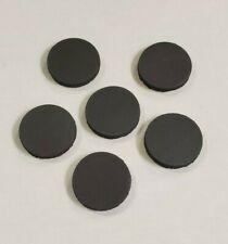 30 Round Ceramic Refrigeratorcraft Magnets With Adhesive Backing 78 Round Disc