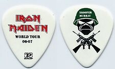 Iron Maiden Dave Murray authentic 2006 concert tour Trooper Murray Guitar Pick