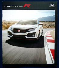 Prospekt brochure 2017 Honda Civic Type R (USA)