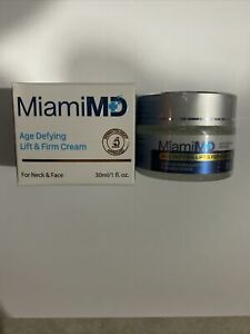 New MiamiMD Age Defying Lift and Firm Cream 1 fl.oz New In Box Fast Shipping