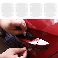 8PCS Car Vinyl Handle Door Invisible Protector Films Scratches Car Stickers Kit