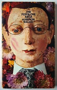 THE FOXGLOVE SAGA / AUBERON WAUGH / 1st PENGUIN EDTN 1966 / ALAN ALDRIDGE COVER