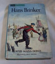 HANS BRINKER or THE SILVER SKATES ~ Mary Mapes Dodge ~ 1963 Companion Library HC