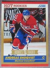 2010-11 Score Hot Rookies #604 Andreas Engqvist Montreal Canadiens RC