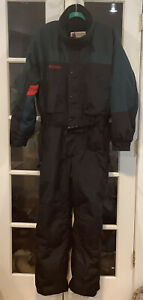 COLUMBIA Men's Size Large L-Tall Ski Snow Board Suit Insulated. Built in Hoodie.