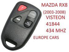 Mazda rx8 RADIO REMOTE CONTROL KEY VISTEON 41844 afey 5-67-5ry 434 MHz