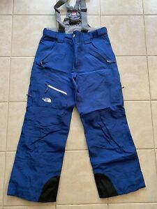 The North Face Goretex Performance Shell Recco Mens M Ski Snowboard Pants Blue