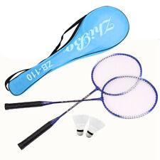 2 Player Badminton Set With Racket Net Shuttlecock Outdoor Garden Game Sport US