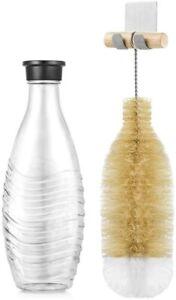 ecooe Flaschenbürste Glasflaschenbürste SodaStream Reinigungsbürste mit Griff