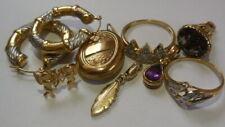 Bulk Vintage genuine gold jewellery, 9ct, 10ct, 14ct, jewellery for wear, 14.60g
