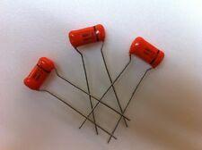 (20 pcs.) 225P68391Wd3 - Sprague, .068uF 100v (Orange Drop) Radial Film Capacit