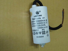 condo condensateur permanent / de démarrage moteur 450v 18µF 18uF 18MF (à fils)