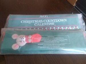 Vintage Avon 1987 Christmas Countdown Calendar