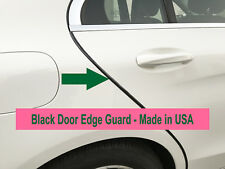 4PCS BLACK Door Edge Scratch Protector Guard Trim Molding For Chevy 2004-2018