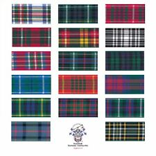 Berisfords Woven Tartan Ribbon 25mm X 5m Flower of Scotland