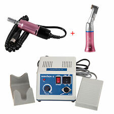 Dental Marathon Electric Micro Motor N3 w/ 1X Contra Angle Handpiece Pink Color