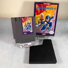 Mega Man 4 Nintendo Entertainment System * NES Game & Box ONLY * No Manual *