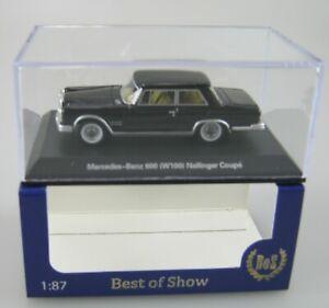 Best of Show Bos 1:87,Nr.: 87695, Mercedes 600 (w100) Nallinger Coupé, schwarz