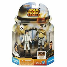 STAR WARS MISSION SERIES WAVE 6 EZRA BRIDGER CADET & KANAN JARRUS MS18 2 PACK