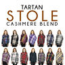 House of Edinburgh Cashmere Blend Scottish Tartan Stole - VARIOUS TARTANS !!