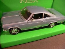 1/24 Welly Chevrolet Impala SS 396 1965 blau 22417