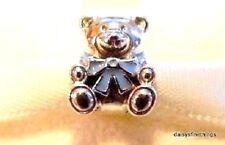 NEW! AUTHENTIC PANDORA CHARM IT'S A BOY TEDDY BEAR #791124EN41  P