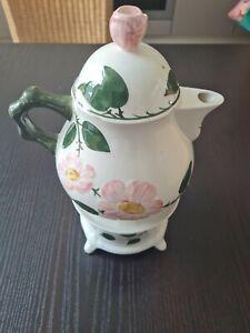 Villeroy& Boch Wildrose 1 Teekanne mit Stövchen