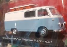 CAMPING CARS 1/43e - HYMER CARAVANO 3 SUR BORGWARD B 611 de 1961 NEUF COMPLET