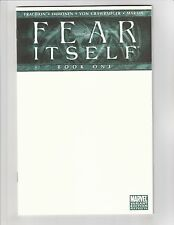 Fear Itself #1 NM- 9.2 Blank Sketch Variant Marvel Comics