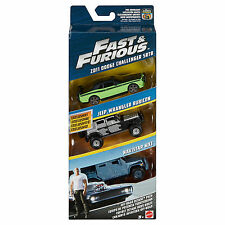 Fast and Furious OFF ROAD Octane PACK TRIPLE SET AUTO SCALA 1:55 Nuovo in Scatola fcg05