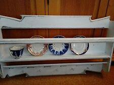 Shabby Regal,groß,Küchenregal,,Wandboard,weiß,Tellerboard,Landhaus 80 cm