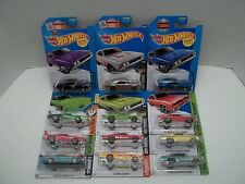Lot of 12 Different Hot Wheels Dodge Chargers Zamac Hemi 50th Daytona 1969 71 74