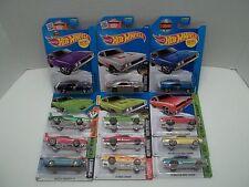 Lot of 12 Different Hot Wheels Dodge Chargers Zamac Hemi 50th Daytona 1969 71 74