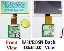 Serial: UART/IIC/I2C/SPI 128x64 12864 Schlank Graphic LCD-Modul für Arduino/PIC