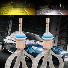 Dual Color H11 H8 H9 80W 11000LM LED Headlight Kit Bulb Replace Halogen Xenon AU