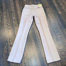 Nos Vtg 1970s Wrangler Pants Polyester Regular Fit Tan retro New Nwt Mens 31 34