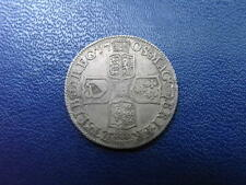 Queen Anne 1708 Silver Shilling
