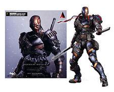 Deathstroke Arkham Origin DC Play Arts Kai Comics Action Figure Statue Model Toy