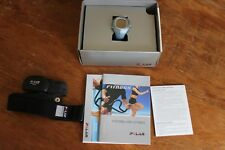 Polar F11 Fitness Heart Rate Monitor With Strap Glow Blue - Needs Batteries