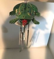 Land And Sea Frog Bobble Wind Chime Various Colors NEW