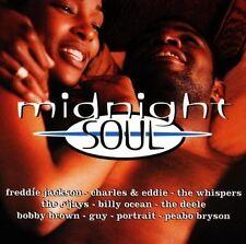 Midnight Soul Freddie Jackson, Charles & Eddie, Whispers, O 'Jays, Bob [CD DOPPIO]