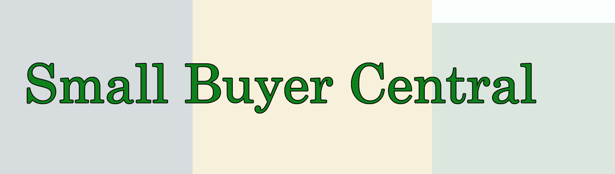 Small Buyer Central