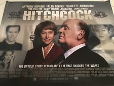 Hitchcock Poster Original Uk Quad Poster