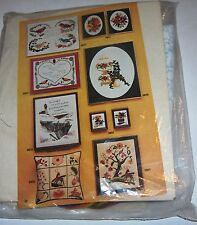 artcraft concepts*MARIGOLDS/POPPIES*-unassembled project new Embroidery Kit,