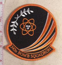 USAF 343d Bomb Squadron Patch 2010