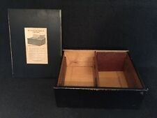 Antique National Cash Register. N.C.R. Wood credit filing system receipt box