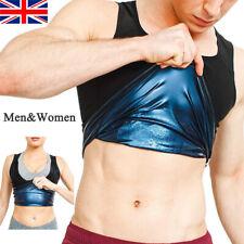 Men Women Sweat Slimming Polymer Vest Sauna Weight Loss Fitness Tank Top Shaper