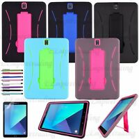 Galaxy Tab S3 9.7 / S2 9.7 Case Cover Heavy Duty hybrid  Protection Stand Case